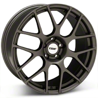 Matte Gunmetal TSW Nurburgring Wheel - 19x9.5 (05-14 All) - TSW 1995NUR415114G76