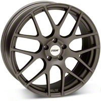 TSW Nurburgring Matte Gunmetal Wheel - 20x8.5 (05-14 All) - TSW 2085NUR405114G76