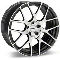 TSW Nurburgring Gunmetal Wheel - 20x8.5 (05-14 All) - TSW 2085NUR405114S76