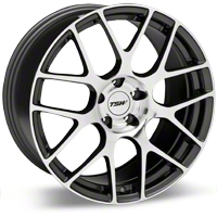 Gunmetal TSW Nurburgring Wheel - 20x8.5 (05-14 All) - TSW 2085NUR405114S76