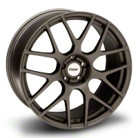 Matte Gunmetal TSW Nurburgring Wheel - 20x10 (05-14 All) - TSW 2010NUR405114G76