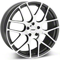 TSW Nurburgring Gunmetal Wheel - 20x10 (05-14 All) - TSW 2010NUR405114S76