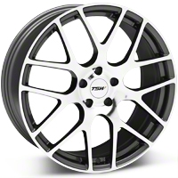 Gunmetal TSW Nurburgring Wheel - 20x10 (05-14 All) - TSW 2010NUR405114S76