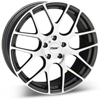 Gunmetal TSW Nurburgring Wheel - 19x8.5 (05-14 All) - TSW 1985NUR455114S76
