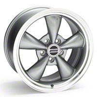 Anthracite Bullitt Wheel - 17x9 (05-10 GT; 05-12 V6) - AmericanMuscle Wheels 28005