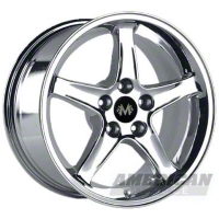 Chrome 1995 Style Cobra R Wheel - 2005+ (17x9)