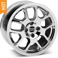 2007 GT500 Style Chrome Wheel - 17x9 (87-93; Excludes 93 Cobra) - American Muscle Wheels 28041