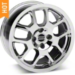 2007 GT500 Chrome Wheel - 17x9 (87-93; Excludes 93 Cobra) - American Muscle Wheels 28041