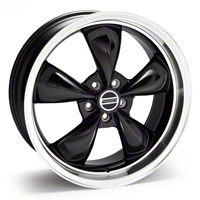 Black Deep Dish Bullitt Wheel - 20x8.5 (94-04 All) - AmericanMuscle Wheels 28050