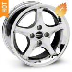1995 Cobra R Chrome Wheel - 16x8 (87-93; Excludes 93 Cobra) - American Muscle Wheels 28062