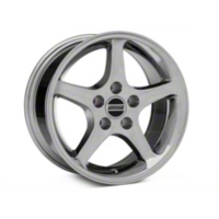 Chrome 1995 Style Cobra R Wheel - 16x8 (94-04 GT, V6) - AmericanMuscle Wheels 28064