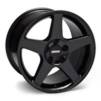 Black 2003 Style Cobra Wheel - 17x10.5 (94-04 All) - AmericanMuscle Wheels 28077
