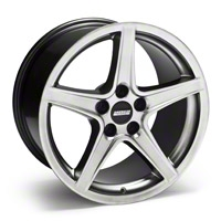 Hypercoated Saleen Style Wheel - 18x10 (94-04 All) - AmericanMuscle Wheels 28083