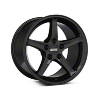 Black 1995 Style Cobra R Wheel - 17x10.5 (94-04 All) - AmericanMuscle Wheels 28086