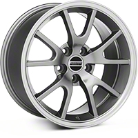 FR500 Style Anthracite Wheel - 17x9 (94-04 All) - American Muscle Wheels 28090