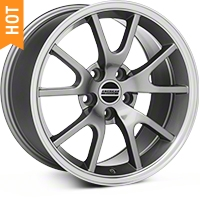 Anthracite FR500 Wheel - 17x9 (94-04 All) - AmericanMuscle Wheels 28090