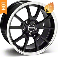 FR500 Black Wheel - 17x9 (94-04 All) - American Muscle Wheels 28092