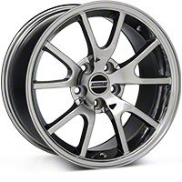 Chrome FR500 Wheel - 17x9 (94-04 All) - AmericanMuscle Wheels 28094