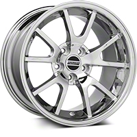 Chrome Deep Dish FR500 Wheel - 17x10.5 (94-04 All) - AmericanMuscle Wheels 28095