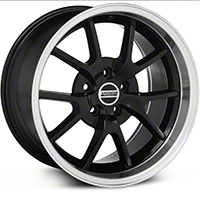Deep Dish FR500 Style Black Wheel - 18x10 (94-04 All) - American Muscle Wheels 28101