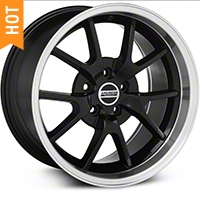 Black Deep Dish FR500 Wheel - 18x10 (94-04 All) - AmericanMuscle Wheels 28101