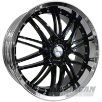 Black Mustang Spyder Wheel 99-04 (18x8)