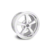 Chrome Deep Dish Mach 1 Wheel (17x9) - 2005+