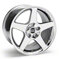 2003 Cobra Style Chrome Wheel - 17x10.5 (94-04 All)