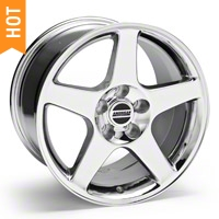 Chrome 2003 Style Cobra Wheel 94-04 - 17x10.5 (94-04 All)