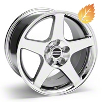 2003 Cobra Chrome Wheel - 17x10.5 (94-04 All)