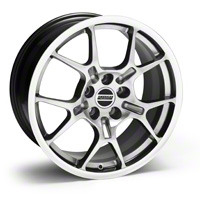 Hypercoated GT4 Wheel - 18x9 (94-04 All) - American Muscle Wheels 28134