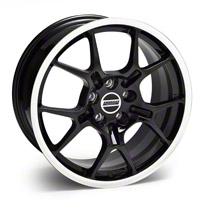 Black GT4 Wheel - 18x9 (05-14 All) - AmericanMuscle Wheels 28135