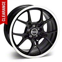 GT4 Black Wheel - 18x9 (05-14 All) - American Muscle Wheels 28135