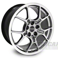 Hypercoated GT4 Wheel - 18x9 (05-12 All) - AmericanMuscle Wheels 28137