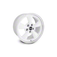 White Bullitt Wheel - 17X9 (94-04 All)