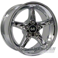 Chrome 1995 Style Cobra R Wheel - 2005+ (18x9)