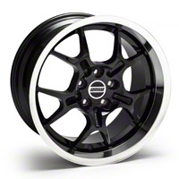 Black Deep Dish GT4 Wheel - 18x10 (94-04 All)