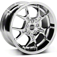 Chrome Deep Dish GT4 Wheel - 18x10 (05-14 All)