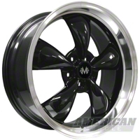 Black Deep Dish Bullitt Wheel - 2005+ (2x 20x8.5 & 2x 20x10)