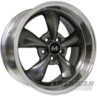Anthracite Deep Dish Bullitt Wheels (Set of 4)