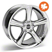 Chrome 2010 Style GT Premium Wheel - 18x10 (05-14 GT, V6)