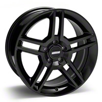 Black 2010 Style GT500 Wheel - 18x10 (94-04 All) - AmericanMuscle Wheels 28222