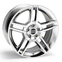 Chrome 2010 Style GT500 Wheel - 18x10 (94-04 All) - AmericanMuscle Wheels 28223
