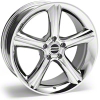 Chrome 2010 Style GT Premium Wheel - 19x8.5 (05-14 GT, V6) - AmericanMuscle Wheels R10-986530C||28231