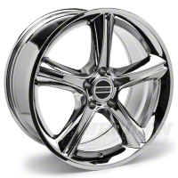 Chrome 2010 Style GT Premium Wheel - 19x8.5 (94-04 All) - AmericanMuscle Wheels R10-986530C||28231