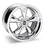 Deep Dish Bullitt Chrome Wheel - 17x10 (05-14 V6; 05-10 GT, Excluding GT500) - American Muscle Wheels 28246