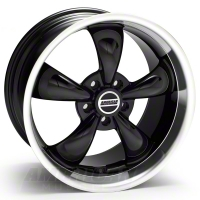 Black Deep Dish Bullitt Wheel - 19x10 (05-14 GT, V6) - AmericanMuscle Wheels 28248