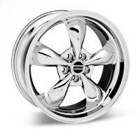 Deep Dish Bullitt Chrome Wheel - 19x8.5 (05-14 All, Excluding GT500) - American Muscle Wheels 28249