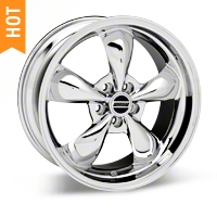 Chrome Deep Dish Bullitt Wheel - 19x8.5 (05-14 GT, V6)