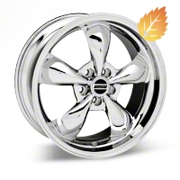 Deep Dish Bullitt Chrome Wheel - 19x8.5 (05-14 GT, V6)